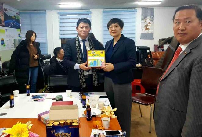 滨州市访韩代表团与旅韩侨界举行座谈会促滨州与韩国文化产业合作与交流