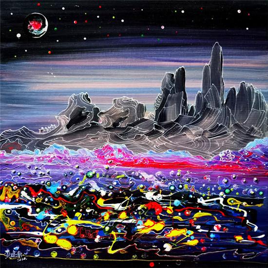 罕有!华人艺术家黄建南登上《时代周刊》
